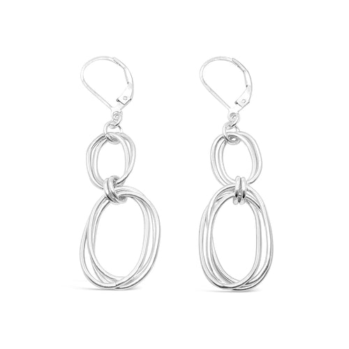 Integrity Double Oval Leverback Earrings ,[product vendor],JewelStreet