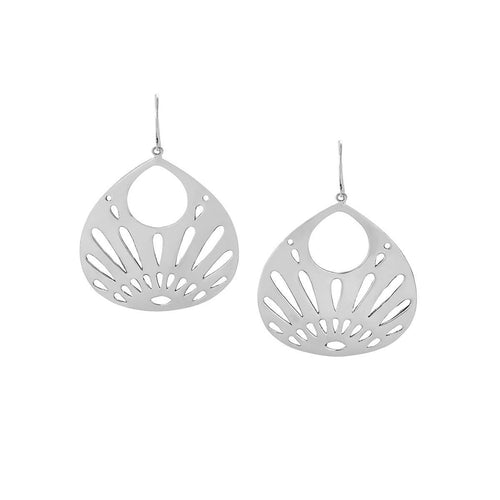 Joy - Silver Large Shine Your Light Large Earrings