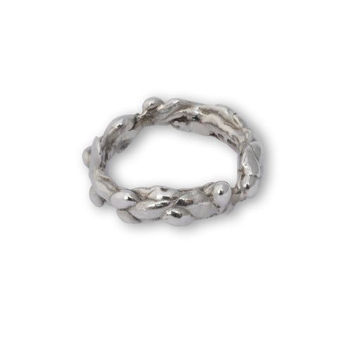 Sterling Silver Molten Ring ,[product vendor],JewelStreet