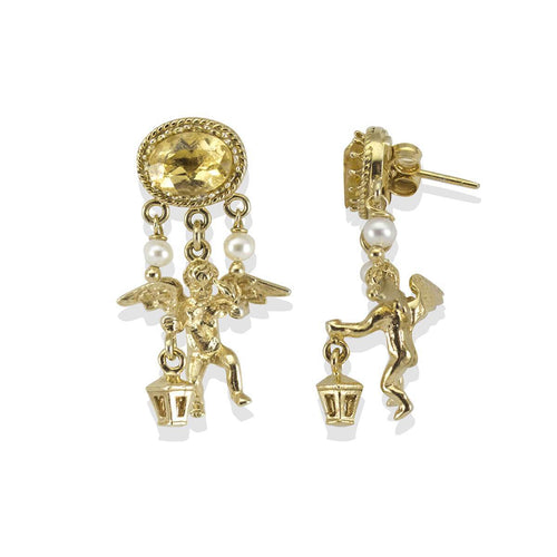 Cherubini Citrine Earrings