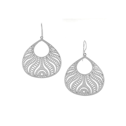 Abundance - Large Silver Beauty From Within Earrings