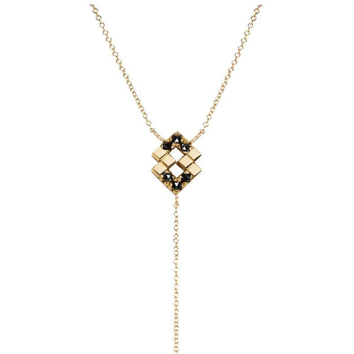 Lesya Lariat Necklace-Imperfect Grace-JewelStreet US