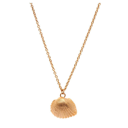 Yellow Gold Plated Oceania Ark Necklace