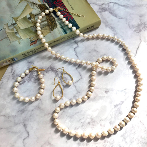 Freshwater Pearl Multi-Way Necklace ,[product vendor],JewelStreet