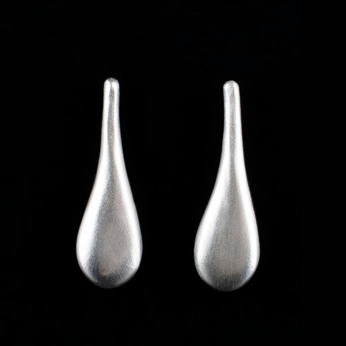 Sterling Silver Melting Ice Earrings ,[product vendor],JewelStreet