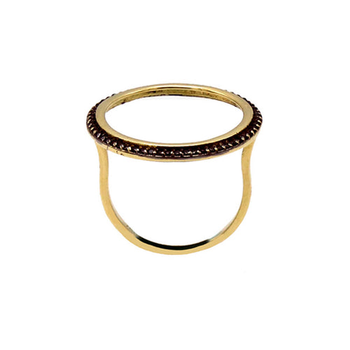 18kt Yellow Gold O Ring ,[product vendor],JewelStreet
