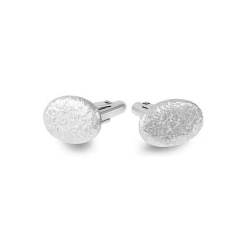 Sterling Silver Duco Cufflinks ,[product vendor],JewelStreet