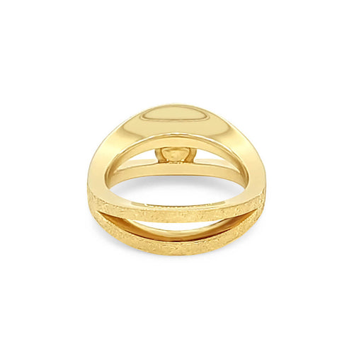9kt Yellow Gold Pearl Reflections Ring ,[product vendor],JewelStreet