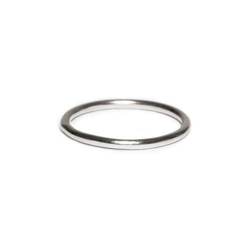 Sterling Silver Round Wire Ring