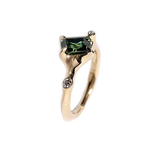 18kt Yellow Gold Sea Creature Cocktail Ring ,[product vendor],JewelStreet