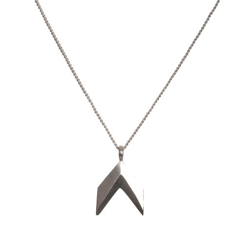 Sterling Silver Spacey Necklace ,[product vendor],JewelStreet