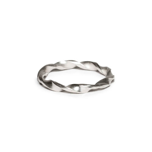 Sterling Silver Helix Ring