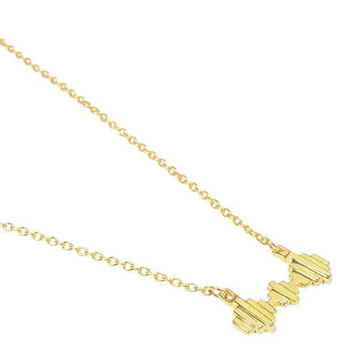 18kt Gold Vermeil Baori Trinity Necklace ,[product vendor],JewelStreet