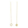 18kt Yellow Gold Vermeil Baori Odd Couple Earrings ,[product vendor],JewelStreet