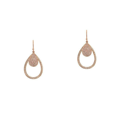 Mini Pavé and Small Diamond Teardrops-Bridget King Jewelry-JewelStreet US