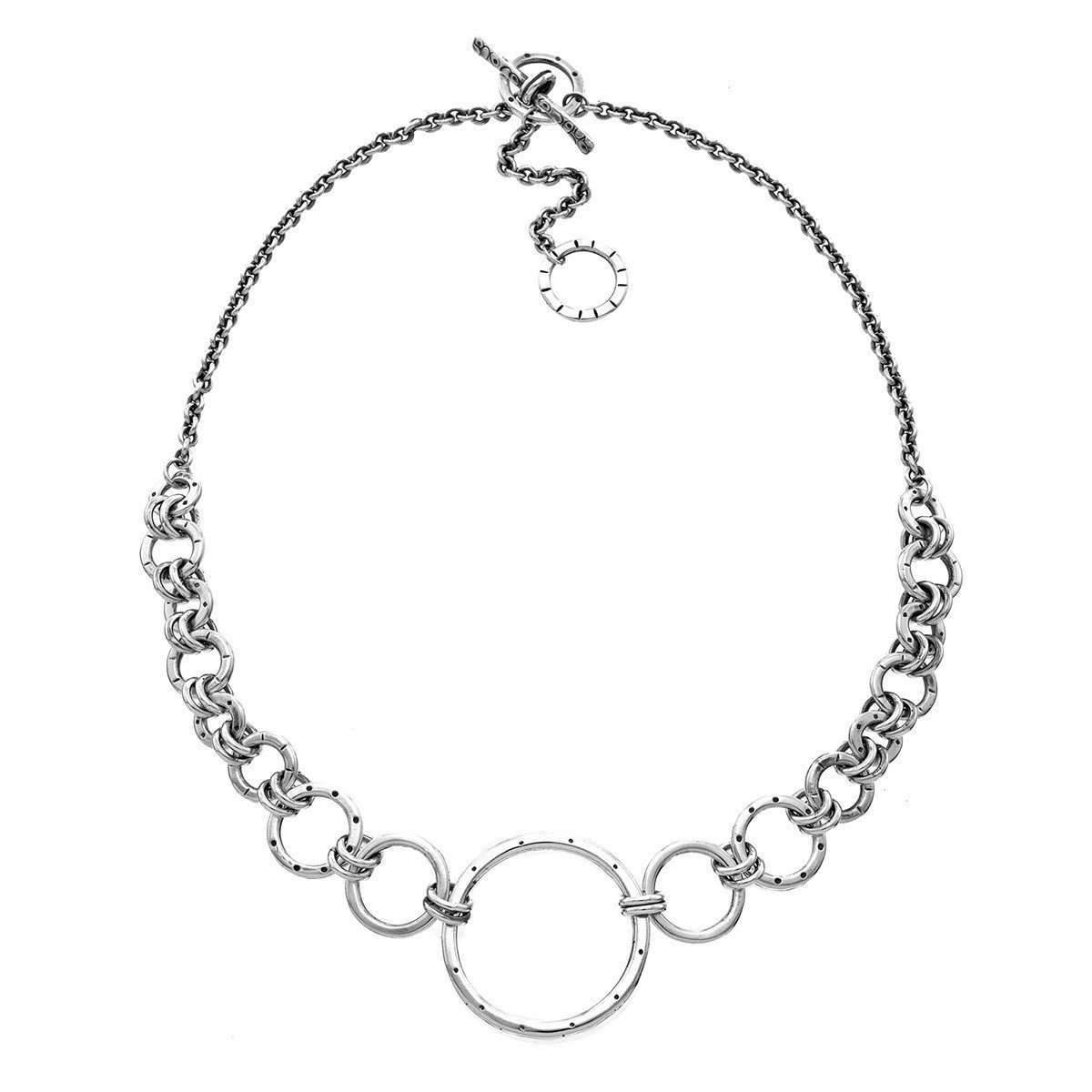 f7ffdf699c98 Silver Gradient Necklace - Female First Shopping