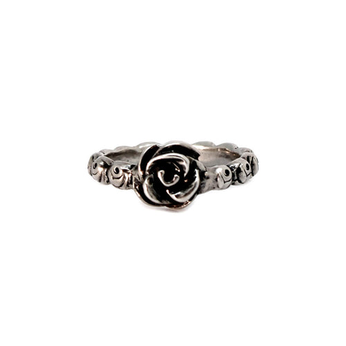 Sterling Silver Ring of Roses Ring ,[product vendor],JewelStreet
