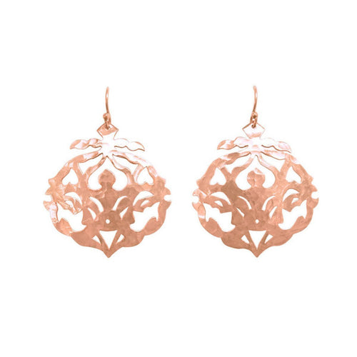Rose Gold Andalusia Drop Earrings ,[product vendor],JewelStreet