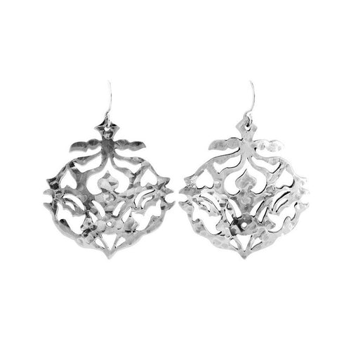 Sterling Silver Andalusia Drop Earrings ,[product vendor],JewelStreet