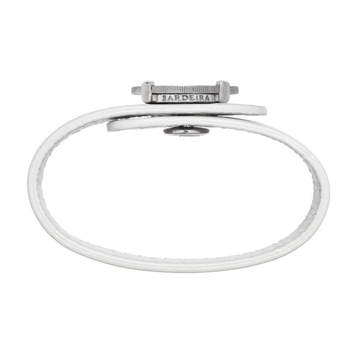 Be Resilient Bracelet White Gold ,[product vendor],JewelStreet