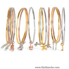 Bee Bangle Rose Gold ,[product vendor],JewelStreet