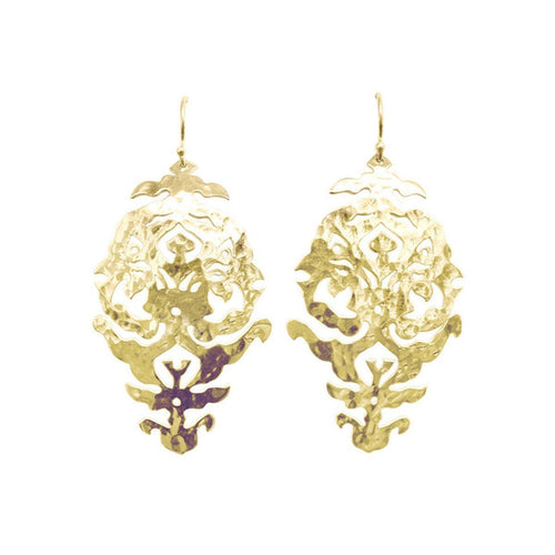 Gold Empire Drop Earrings ,[product vendor],JewelStreet