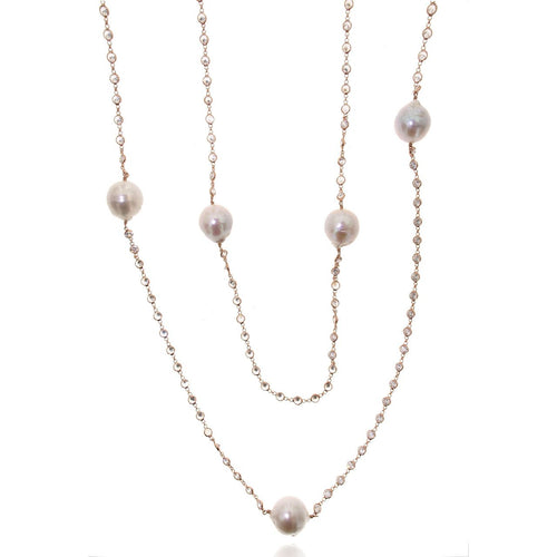 Long Baroque Pearl Necklace ,[product vendor],JewelStreet