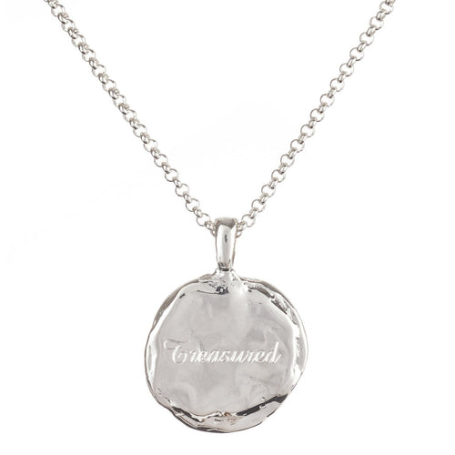 Personalised Verity Sterling Silver Necklace ,[product vendor],JewelStreet