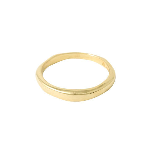9kt Yellow Gold Ring I Plain or with Diamond ,[product vendor],JewelStreet