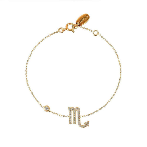 Scorpio Zodiac Bracelet Gold ,[product vendor],JewelStreet