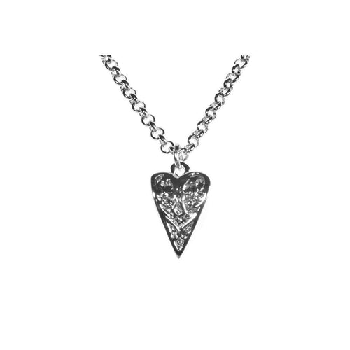Silver Heart Necklace ,[product vendor],JewelStreet