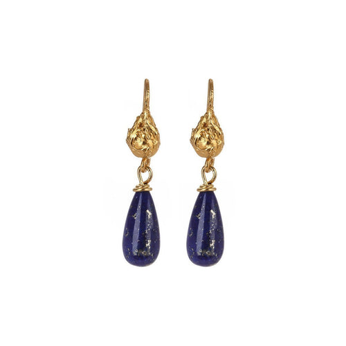 Virginia Lapis Lazuli Earrings ,[product vendor],JewelStreet