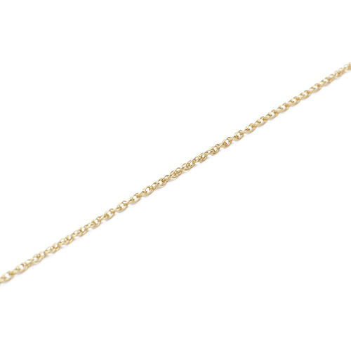 9kt Gold Rope Chain Necklace ,[product vendor],JewelStreet