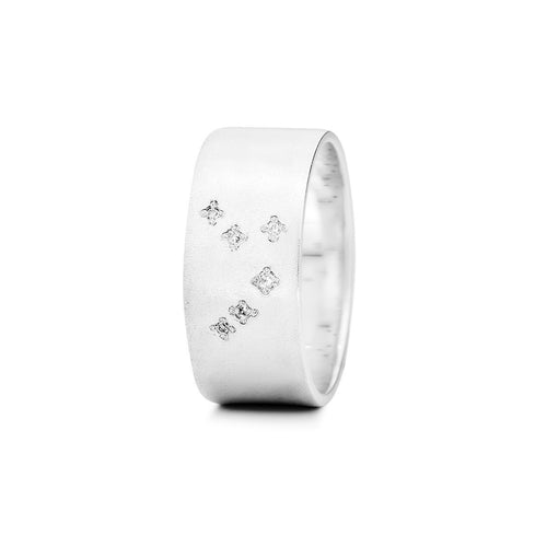 Sterling Silver Aries Zodiac Constellation Ring ,[product vendor],JewelStreet