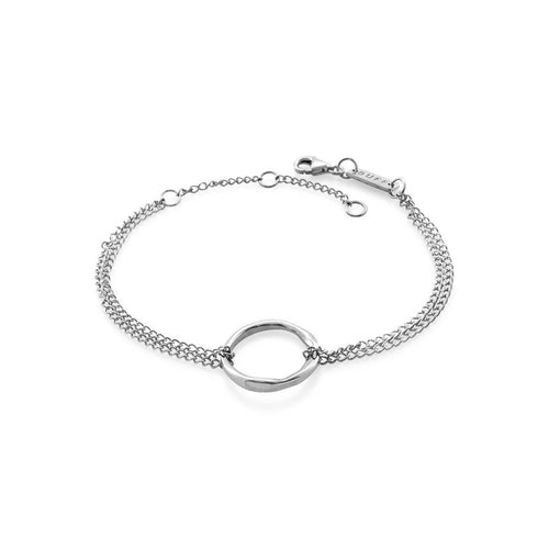 Sterling Silver Circle Of Life Bracelet ,[product vendor],JewelStreet