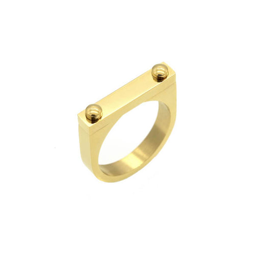 Gold D2 Ring ,[product vendor],JewelStreet