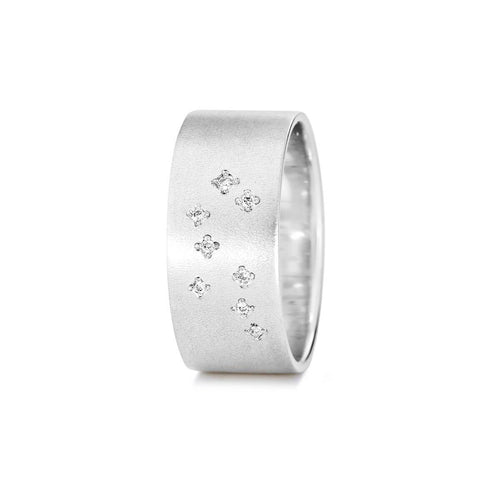 Sterling Silver Gemini Zodiac Constellation Ring ,[product vendor],JewelStreet