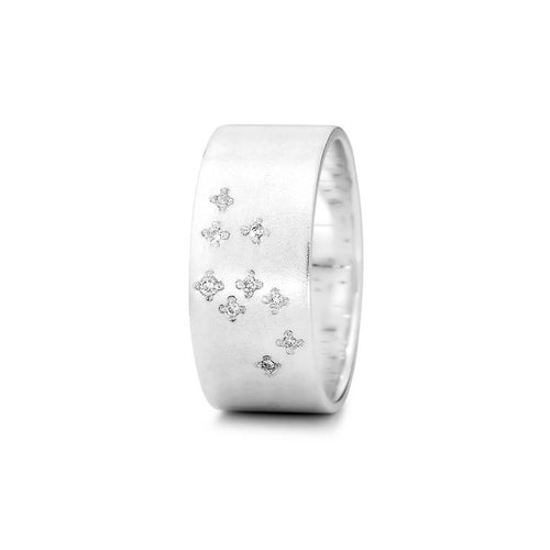 Sterling Silver Leo Zodiac Constellation Ring ,[product vendor],JewelStreet