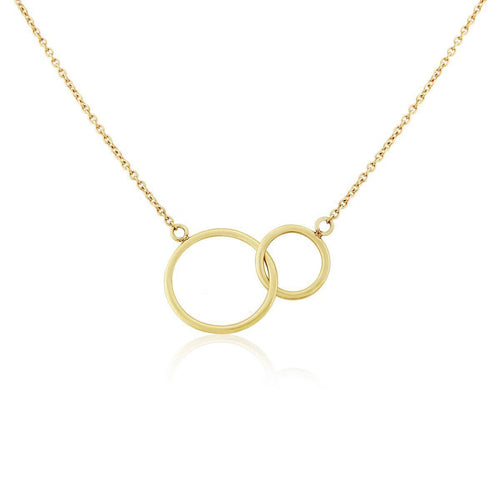 9kt Yellow Gold Kelso Necklace ,[product vendor],JewelStreet