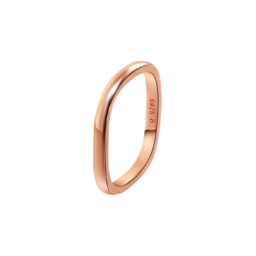 Rose Gold Vermeil Stacking Ring ,[product vendor],JewelStreet