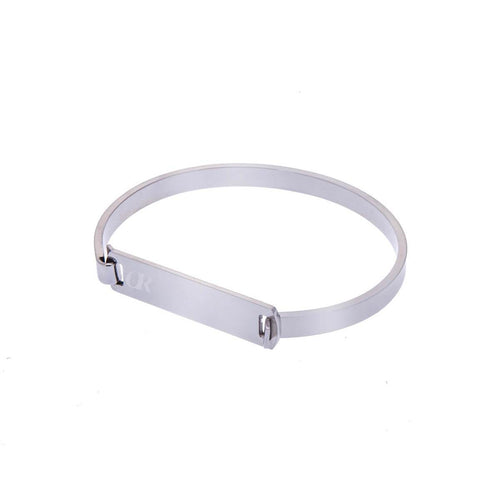 Silver Clip On Bracelet ,[product vendor],JewelStreet