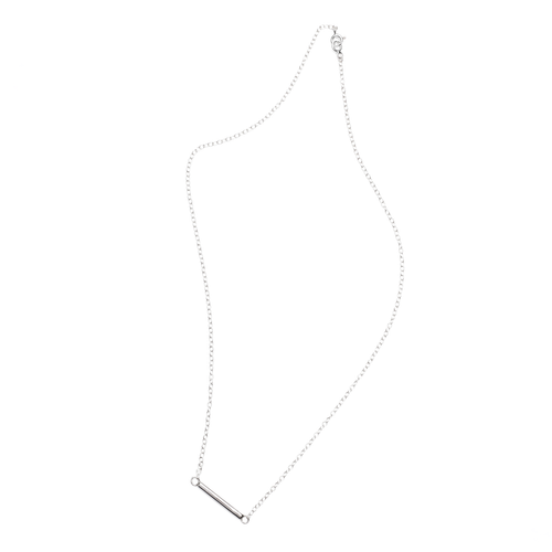 Sterling Silver Barre Necklace ,[product vendor],JewelStreet