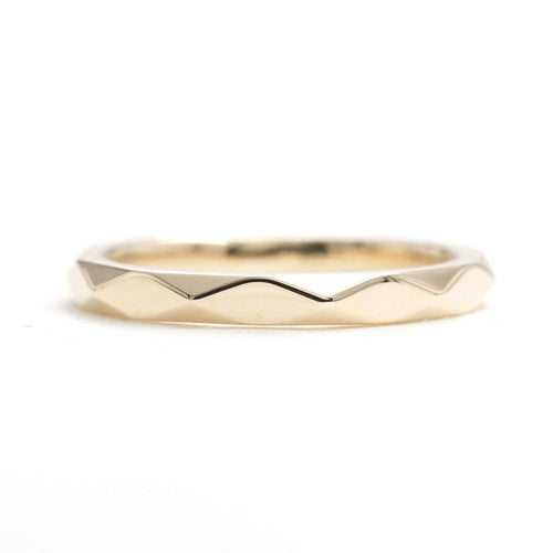14kt Gold Hammered Wedding Band ,[product vendor],JewelStreet