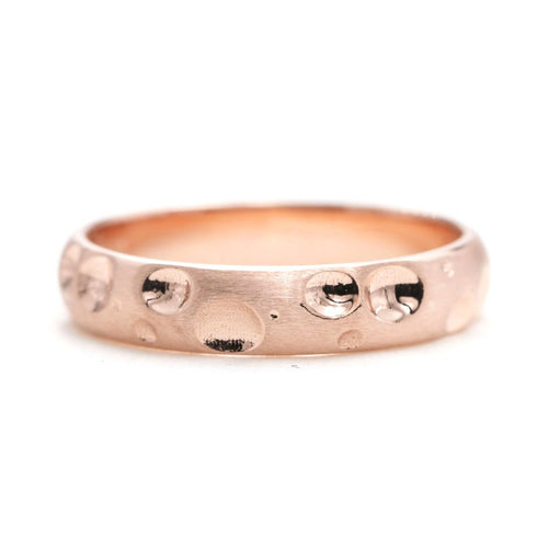 14kt Gold Classic Hammered Wedding Band ,[product vendor],JewelStreet