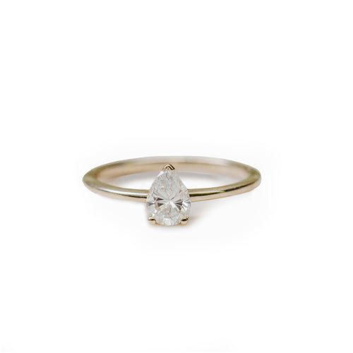 Pear Cut Diamond Ring ,[product vendor],JewelStreet