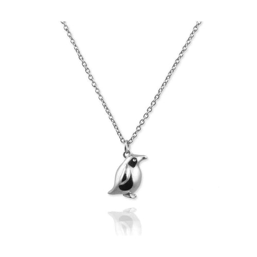 Tiny Penguin Necklace-Necklaces-Jana Reinhardt Jewellery-JewelStreet