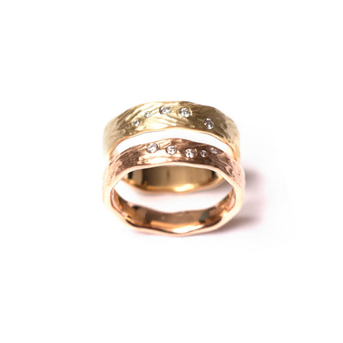 18kt Gold Nanjizel Rings ,[product vendor],JewelStreet
