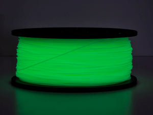 Premium 3D Printer Filament PLA 1.75MM 1kg/spool, Glow In The Dark Green (10x)
