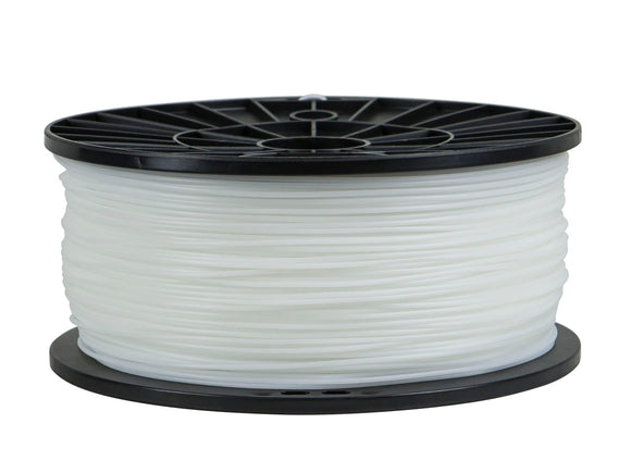 Premium 3D Printer Filament TPE Flexible 1.75MM 1kg/spool, White (10x) - FREE SHIPPING