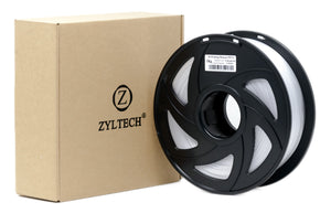 ZYLtech Filament - 1kg/spool Transparent - PETG (20x)- FREE SHIPPING
